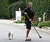 Photo of Matthew McConaughey Skateboarding in LA