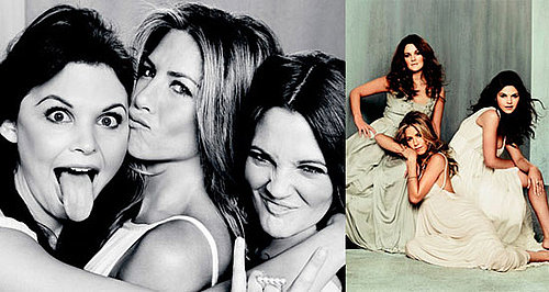 Jennifer Aniston Talks About Breakups and Brad Pitt with Ginnifer Goodwin and Drew Barrymore in Marie Claire