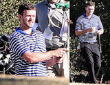 Justin Timberlake Hits the Golf Course