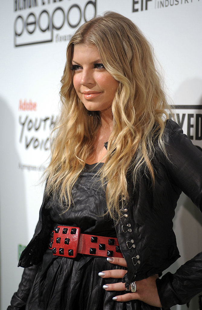 Fergie at the PeaPod Event