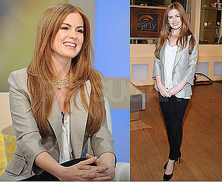 Photos of Isla Fisher at CBS The Early Show