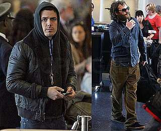 Photos of Casey Affleck and Joaquin Phoenix at LAX