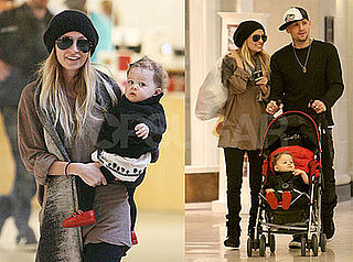Photos of Nicole Richie and Benji Madden at Beverly Center