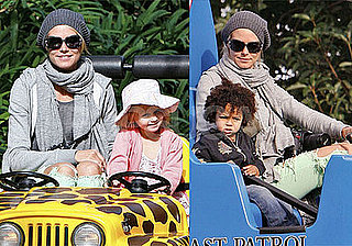 Photos of Heidi Klum, Seal and Kids at Disneyland