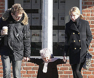 Photo of Michelle Williams and Matilda Ledger Out in Brooklyn 2009-02-13 14:29:05