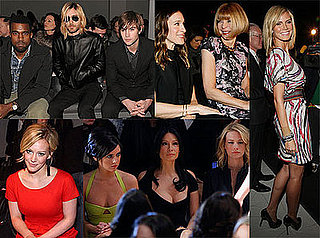Photos of Jared Leto, Chace Crawford, Kanye West, Sarah Jessica Parker, Anna Wintour, Heidi Klum at Fashion Week 2009