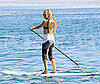 Photo of Kate Hudson Out for a Paddle Surfing Lesson in Malibu