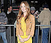 Photo of Isla Fisher on Her Way Into Good Morning America