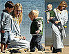 Photos of Naomi Watts With Son Alexander at the Beach in LA