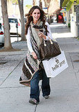 Jennifer Love Hewitt Shops in LA