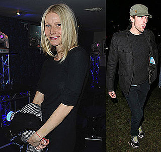 Photos of Gwyneth Paltrow and Chris Martin Leaving the Coldplay Charity Concert at London's Shepherds Bush Empire