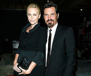 Photo of Charlize Theron and Josh Brolin at the Launch Party for the BRANDAID Foundation.
