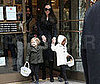 Photo of Shiloh Jolie-Pitt, Zahara Jolie-Pitt, Angelina Jolie Shopping in NYC
