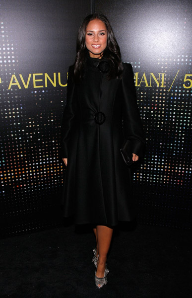 Armani Store Opening in NYC