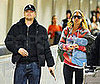 Photo of Leonardo DiCaprio and Bar Refaeli at LAX
