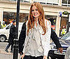 Photos of Isla Fisher at BBC Radio 1 in London to Promote Confessions of a Shopaholic