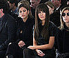 Photo of Kate Beckinsale, With New Bangs, Sitting with Eva Mendes at the Calvin Klein Show During 2009 Fall New York Fashion Wee