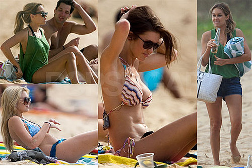 Photos of Lauren Conrad, Audrina Patridge, Stephanie Pratt, Lo Bosworth in Bikinis and Shirtless Brody Jenner in Hawaii
