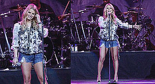 Jessica Simpson Gets Leggy and Lucky