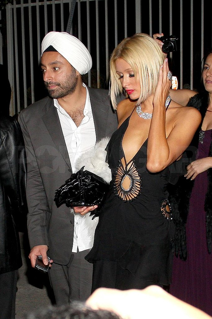 Nicole Richie at Oscar Party