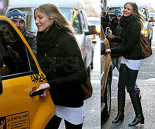 Photos of Cameron Diaz in NYC 2009-02-26 11:30:27