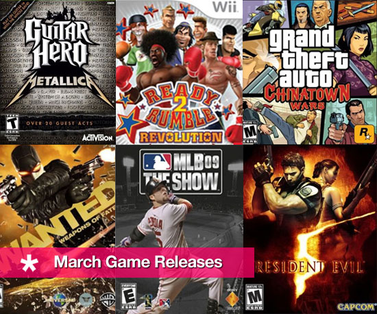 Get Your Game On: March Releases