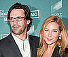 Photo of Jon Hamm and Jennifer Westfeldt at the Premiere of Breaking Bad