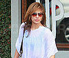 Photo of Jennifer Lopez Leaving Hair Salon in LA