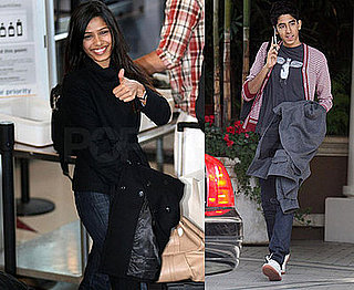 Freida and Dev Head Out While Younger Costars Still Play