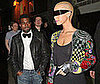 Photo of Kanye West Out at London's Double Club with Amber Rose
