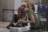 Kate Winslet at LAX and JFK
