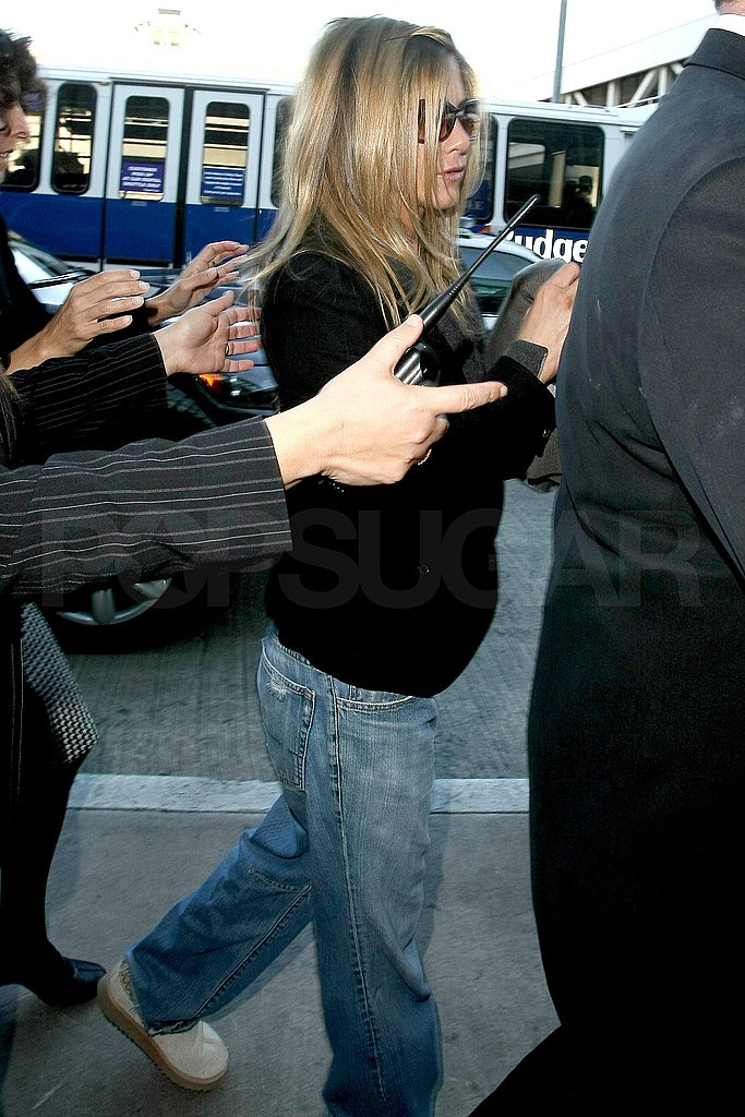 Jennifer Aniston at LAX