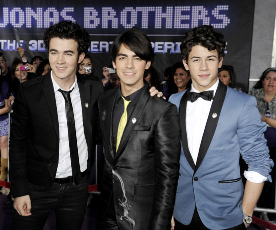 The Jonas Brothers Take Flight