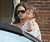 Photo Halle Berry and Gabriel Aubrey with Their daughter Nahla Aubrey in Malibu