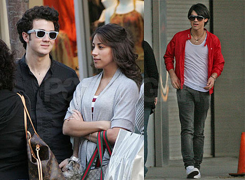 Photos of Joe and Kevin Jonas, Camilla Belle in LA