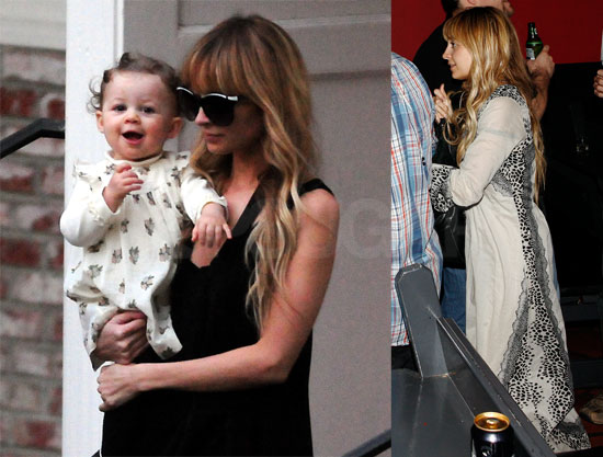 Nicole, Harlow, Joel and Jennifer Meyer in LA