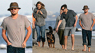 Photos of Leonardo DiCaprio and Bar Refaeli at Malibu Beach
