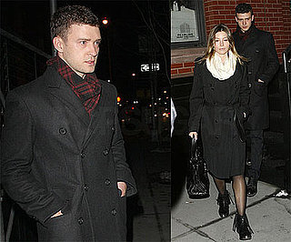 Photos of Justin Timberlake and Jessica Biel in NYC on Jessica Biel's 27th Birthday