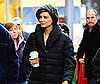 Photo of Katie Holmes Filming The Extra Man in NYC