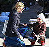Photo of Michelle Williams and Matilda Ledger Out For a Walk in Brooklyn 2009-03-06 10:30:00