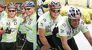 Matt Damon Completes a Bike Race in South Africa With His Brother