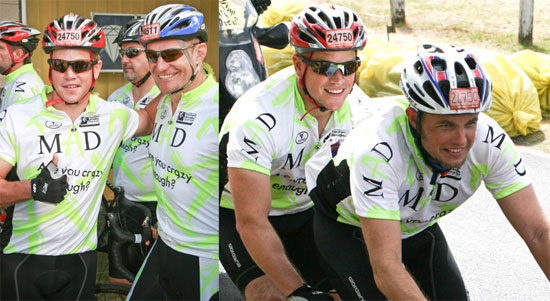 Matt Damon Cycling in South Africa
