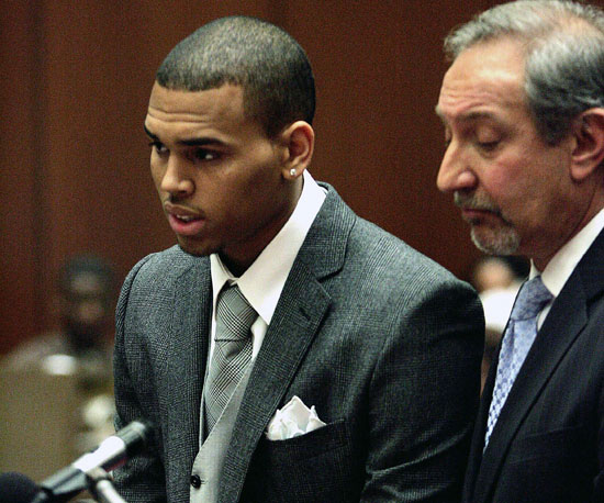 Chris Brown Gets Charged and Arraigned