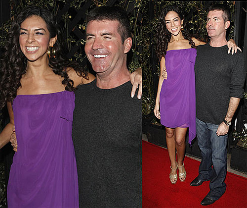 Photos of Simon Cowell with Terri Seymour After Crowning Idol Top 13