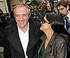 Photo of Salma Hayek and Francois-Henri Pinault Leaving the Balenciaga Show During Paris Fashion Week