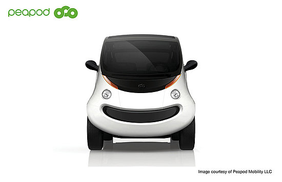 Peapod Mobility Electric Neighborhood Car