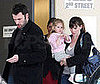 Photo of Ben Affleck and Jennifer Garner Picking Their Daughter Violet Up From School 2009-03-12 10:30:00