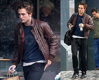 Photos of Robert Pattinson Getting Starbucks in LA