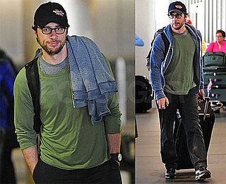 Photos of Zach Braff at LAX
