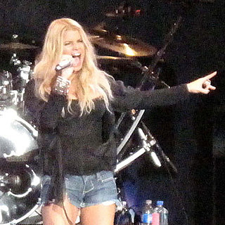 Photos of Jessica Simpson in Daisy Dukes On Stage in San Diego and LA